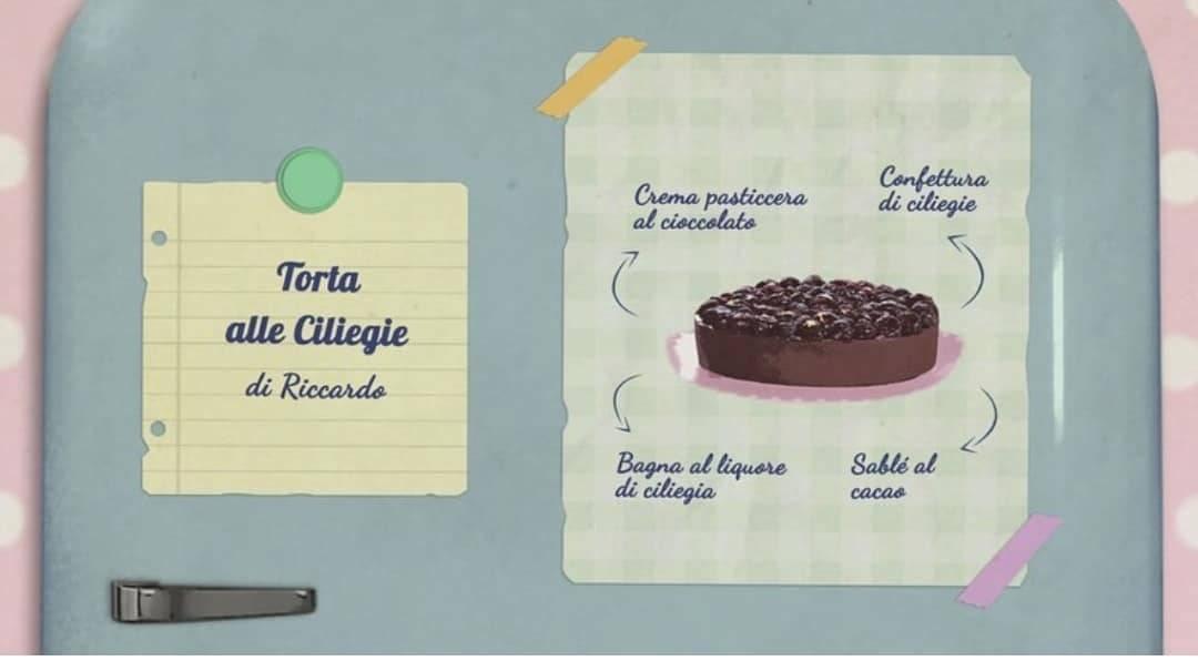 Bake Off Italia | la ricetta della torta di ciliegie di Riccardo