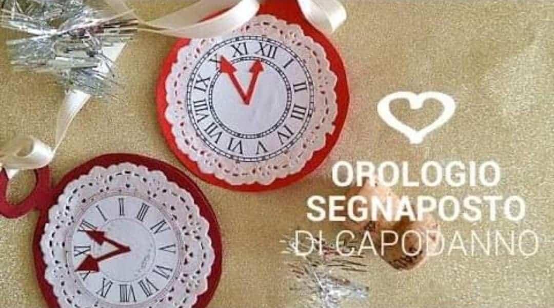 Diy| Orologi segnaposto per Capodanno -VIDEO-
