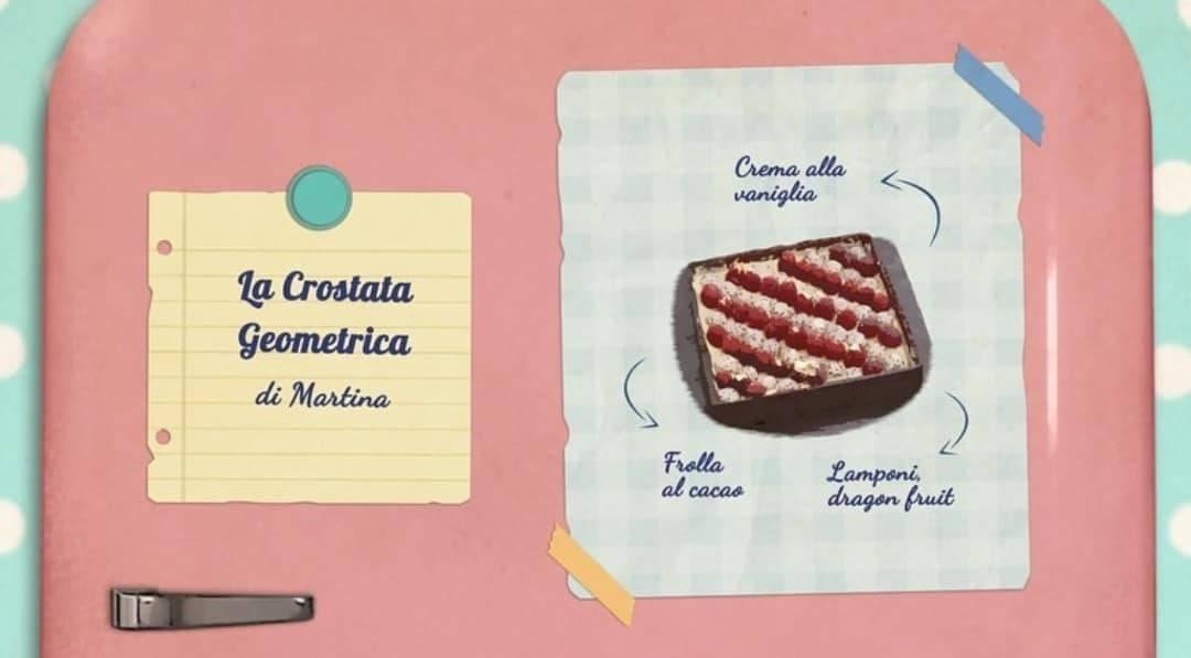 Bake Off Italia   la ricetta della crostata geometrica di Martina