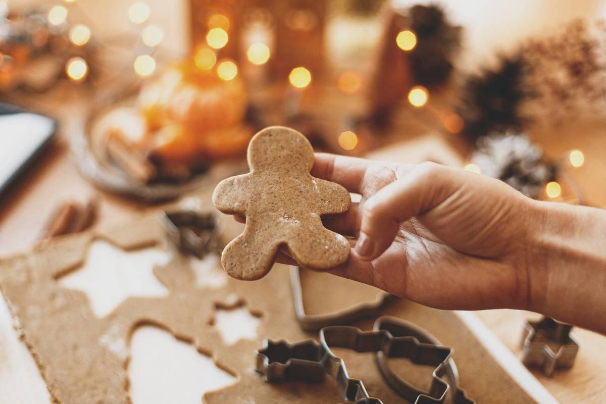 Gingerbread, gli omini natalizi: la ricetta facilissima!