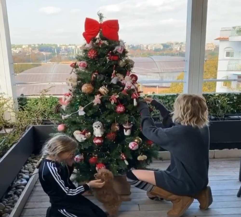 Albero Natale Alessia Marcuzzi