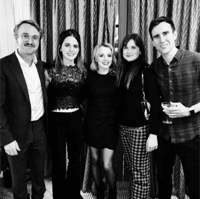 Emma Watson, Harry Potter reunion di Natale in una foto!