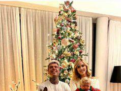 Ferragnez e l'albero di Natale