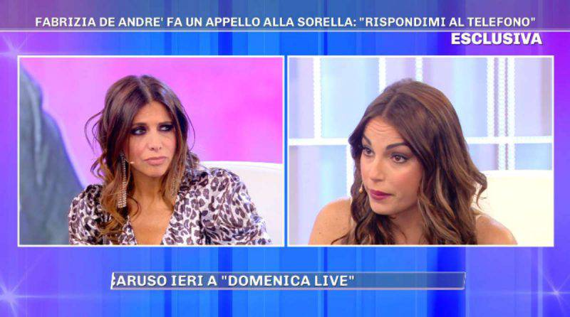 Francesca De Andrè si confronta