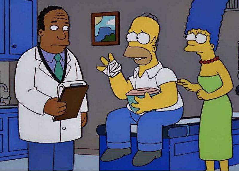 Homer e Marge dal dottore