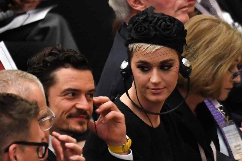 Nozze rimandate per Katy Perry e Orlando Bloom
