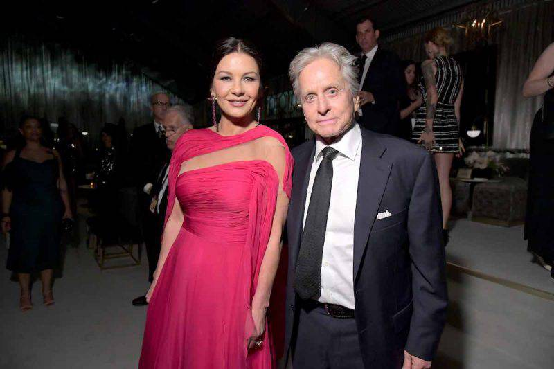 Michael Douglas e Catherine Zeta Jones in Africa