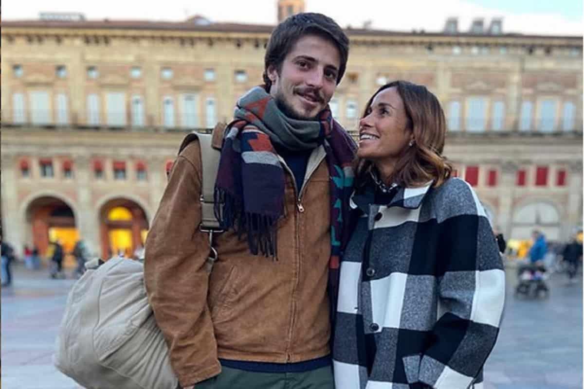 Cristina parodi e il figlio Alessandro Gori