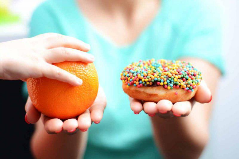 Preferite la frutta al dolce