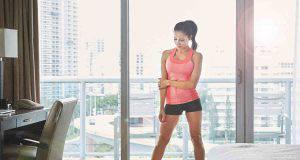 Fitness in hotel