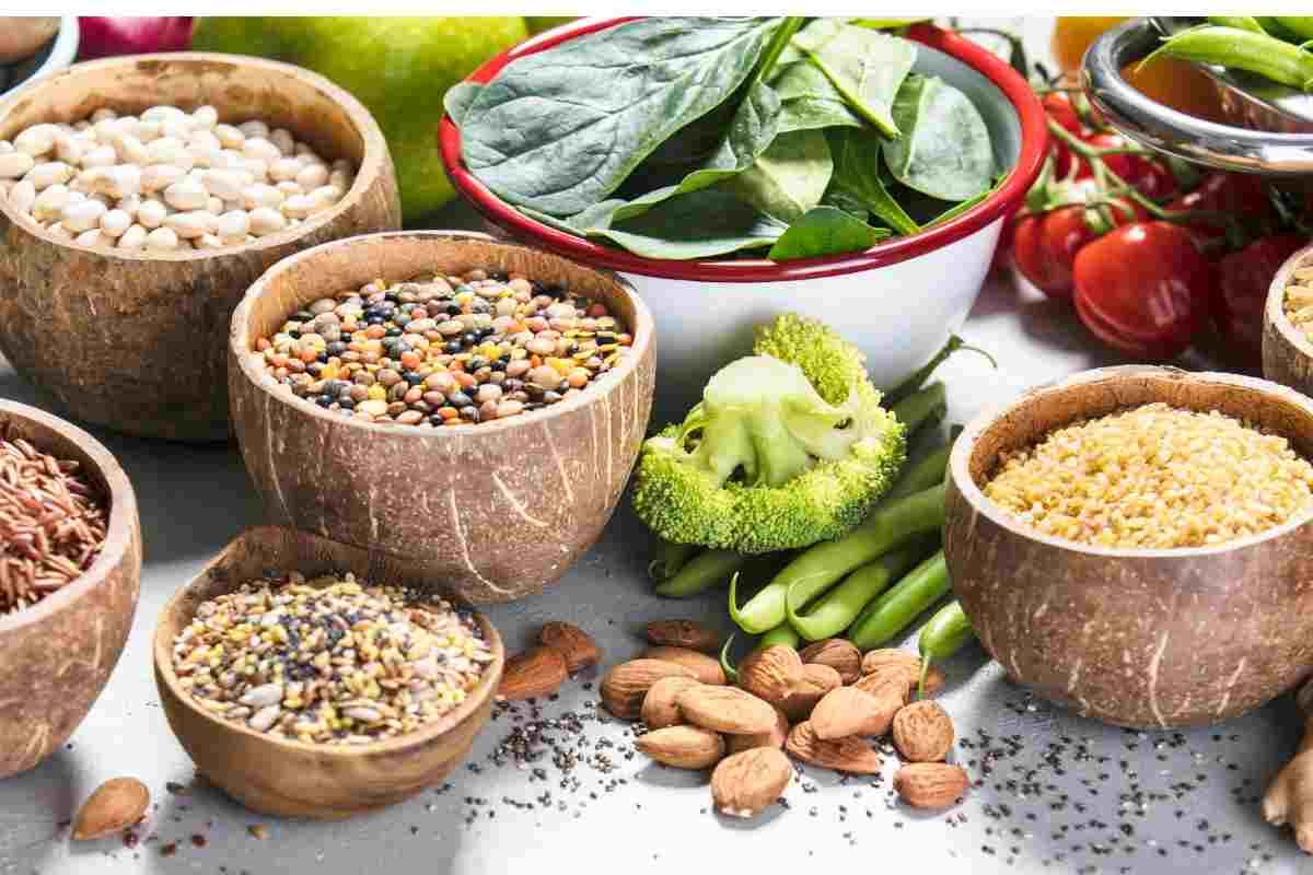Cereali e verdure