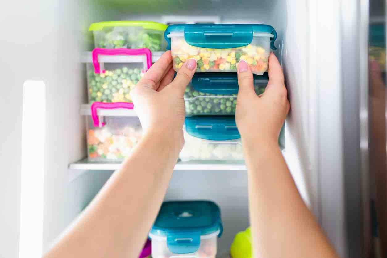 cibo non può essere congelato