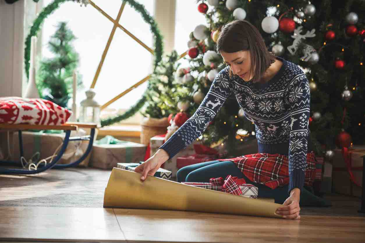 outfit natale tartan
