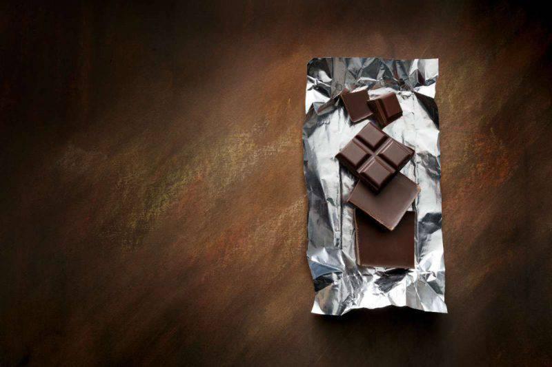 cioccolato alluminio