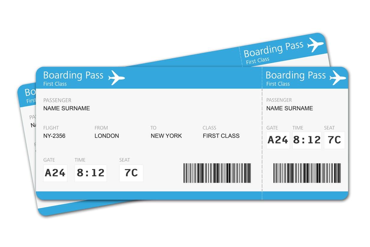 La carta d'imbarco non andrebbe mai gettata dopo aver preso l'aereo
