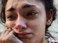 Il collegio, mariana piange