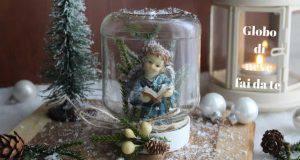 Diy | globo di neve con barattolo di vetro -VIDEO-