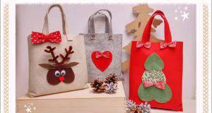 Natale fai da te | Christmas Bag in feltro -VIDEO-