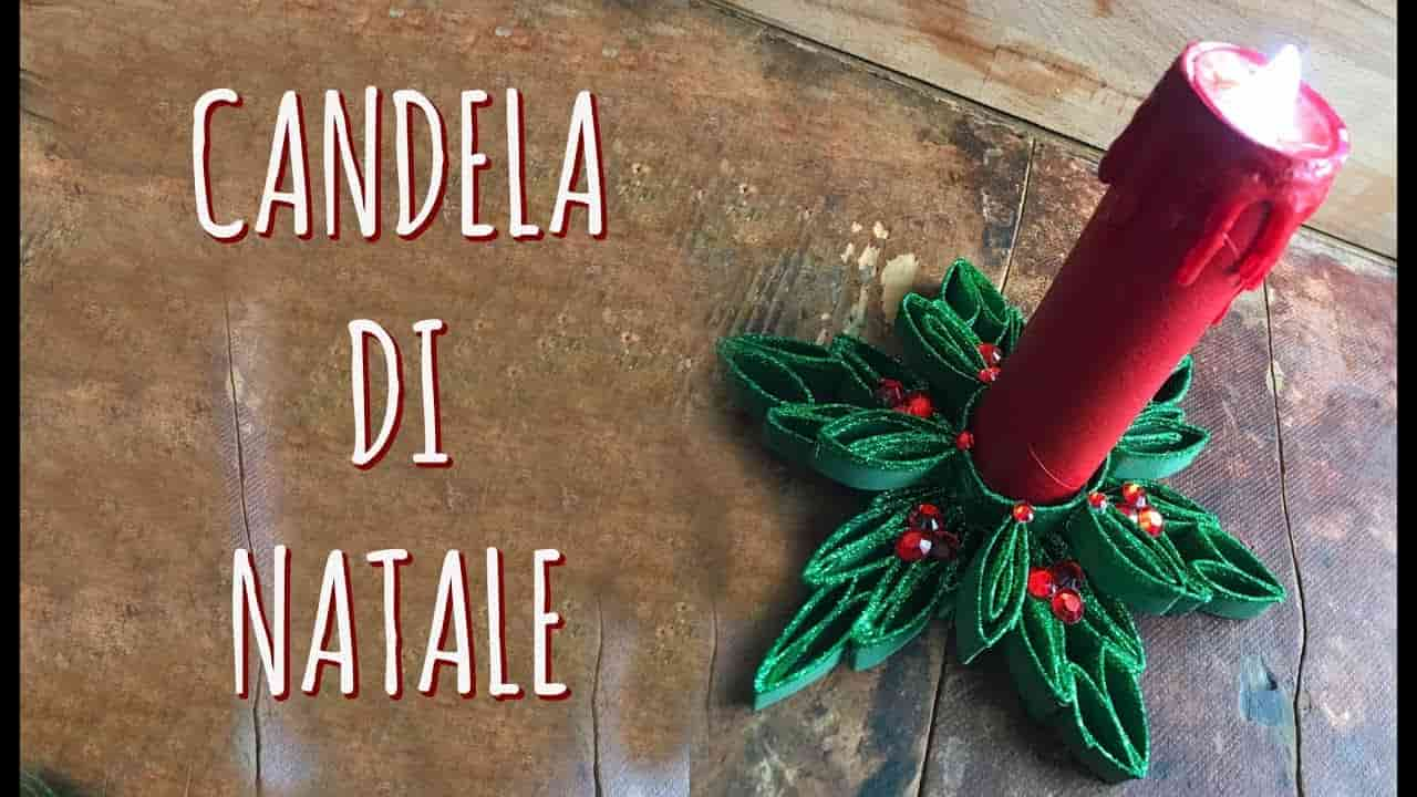 candel di natale low cost