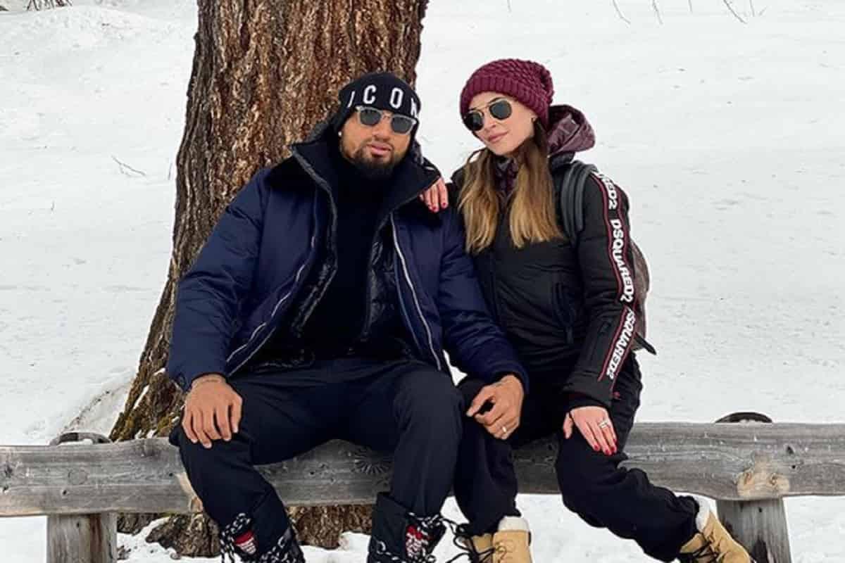 Kevin Prince Boateng e la moglie Melissa satta