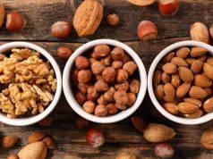 I benefici di mandorle, noci e nocciole