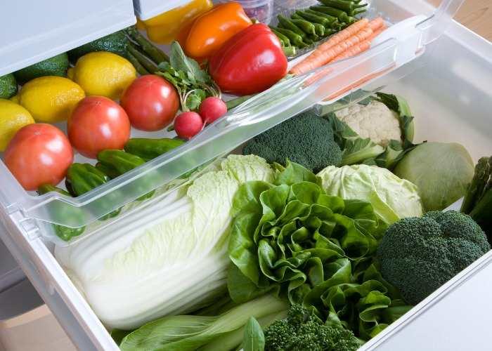 Conservare in frigo frutta e verdura