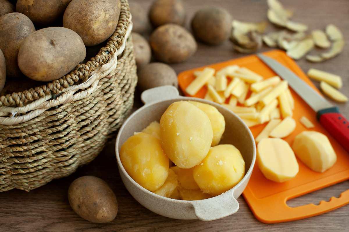 Come pulire con le patate