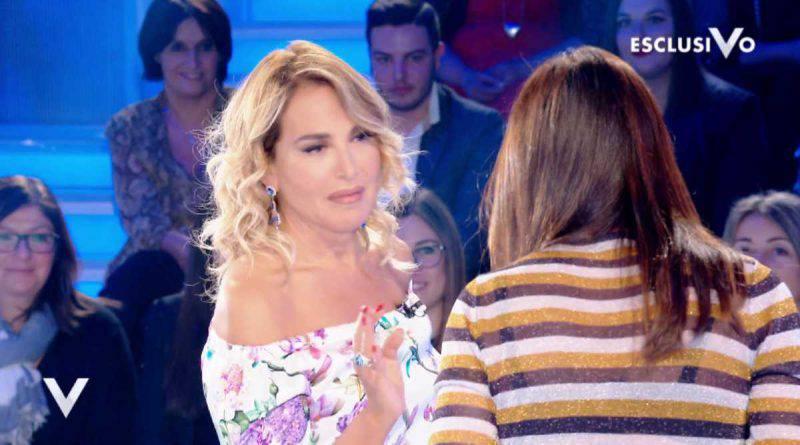Barbara d'Urso con Silvia Toffanin
