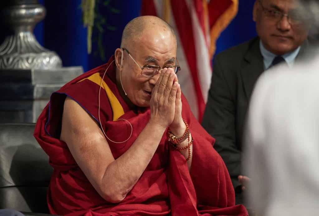 Dalai Lama felicità