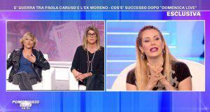 Pomeriggio 5, Paola Caruso litiga con Floriana