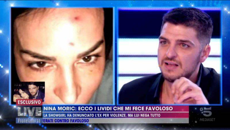 Le prove di Nina Moric