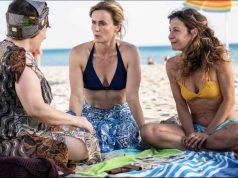Maria Di Biase, Lucia Mascino e Carlotta Natoli sul set di Odio l'estate