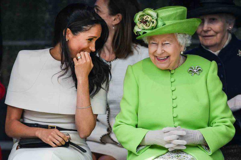 Elisabetta II appoggia la scelta della Duchessa di Sussex
