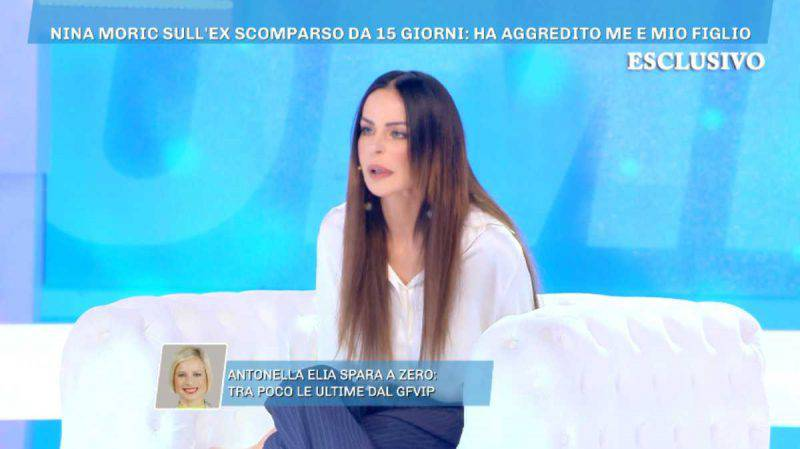 Domenica Live, Nina Moric da Barbara d'Urso
