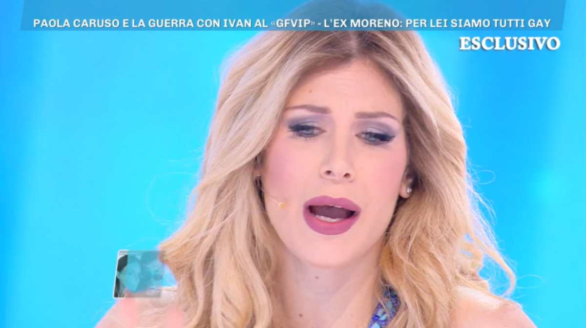 Paola Caruso a Domenica Live