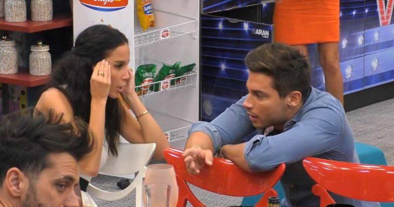 GF Vip, Paola Di Benedetto parla con Andrea Denver