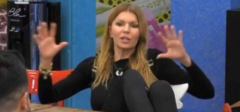 Grande Fratello Vip, Rita Rusic furiosa