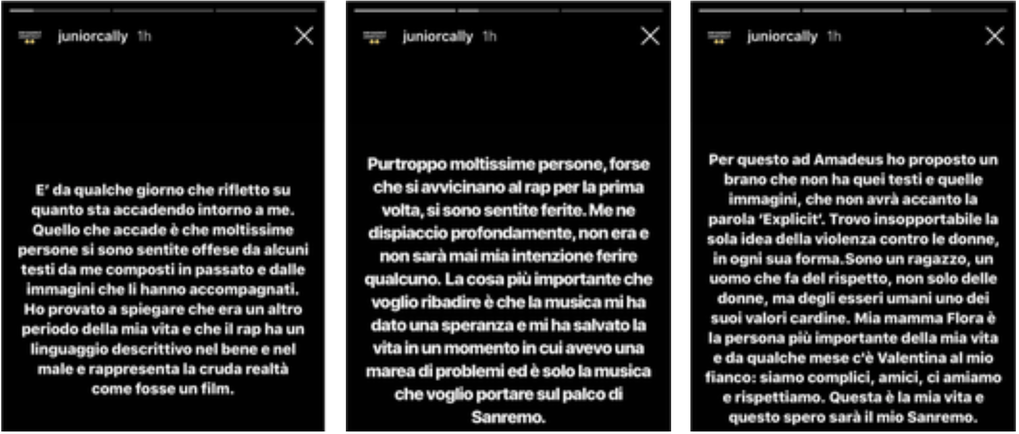 Junior Cally Instagram