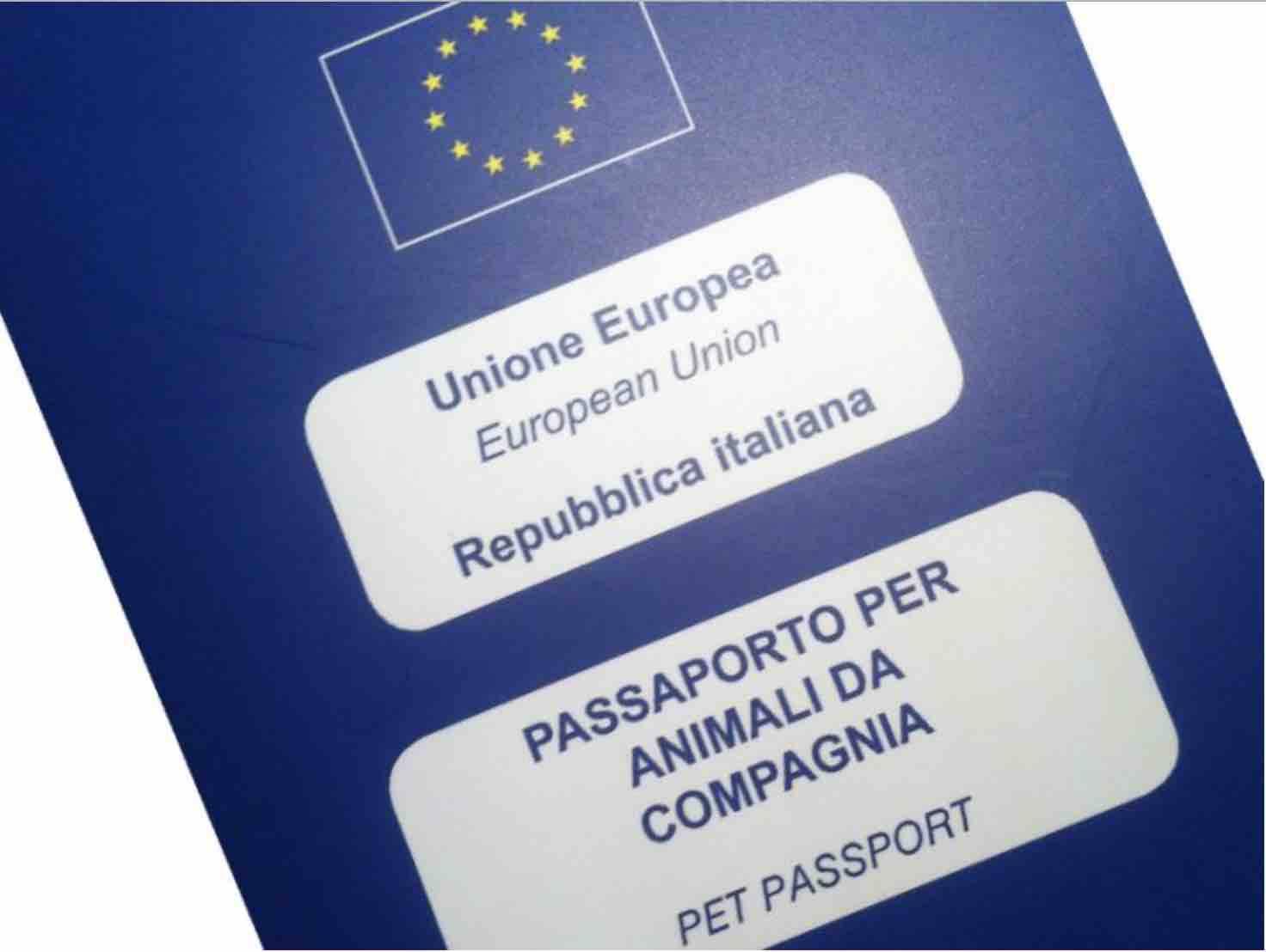 passaporto animali domestici