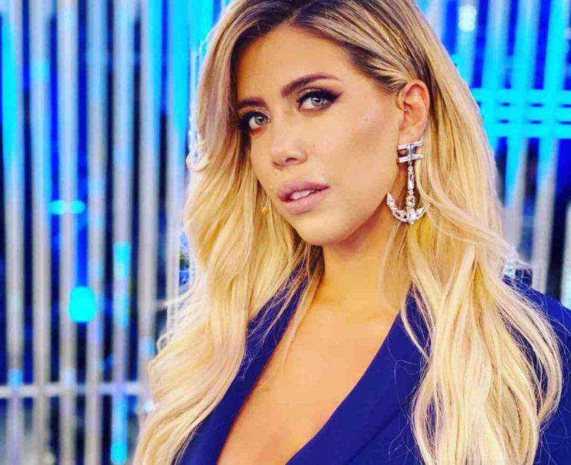 Wanda Nara irretisce i followers dopo l'allenamento (Getty Images)