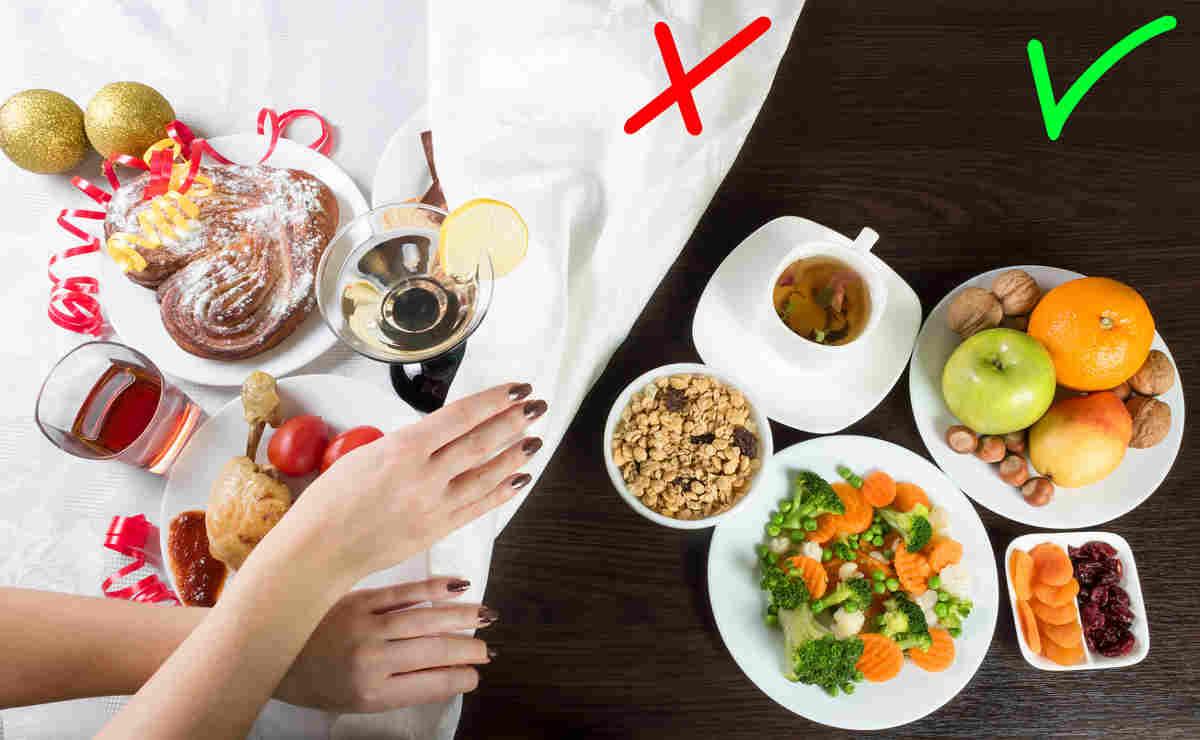 Alimenti sani contro alimenti nocivi