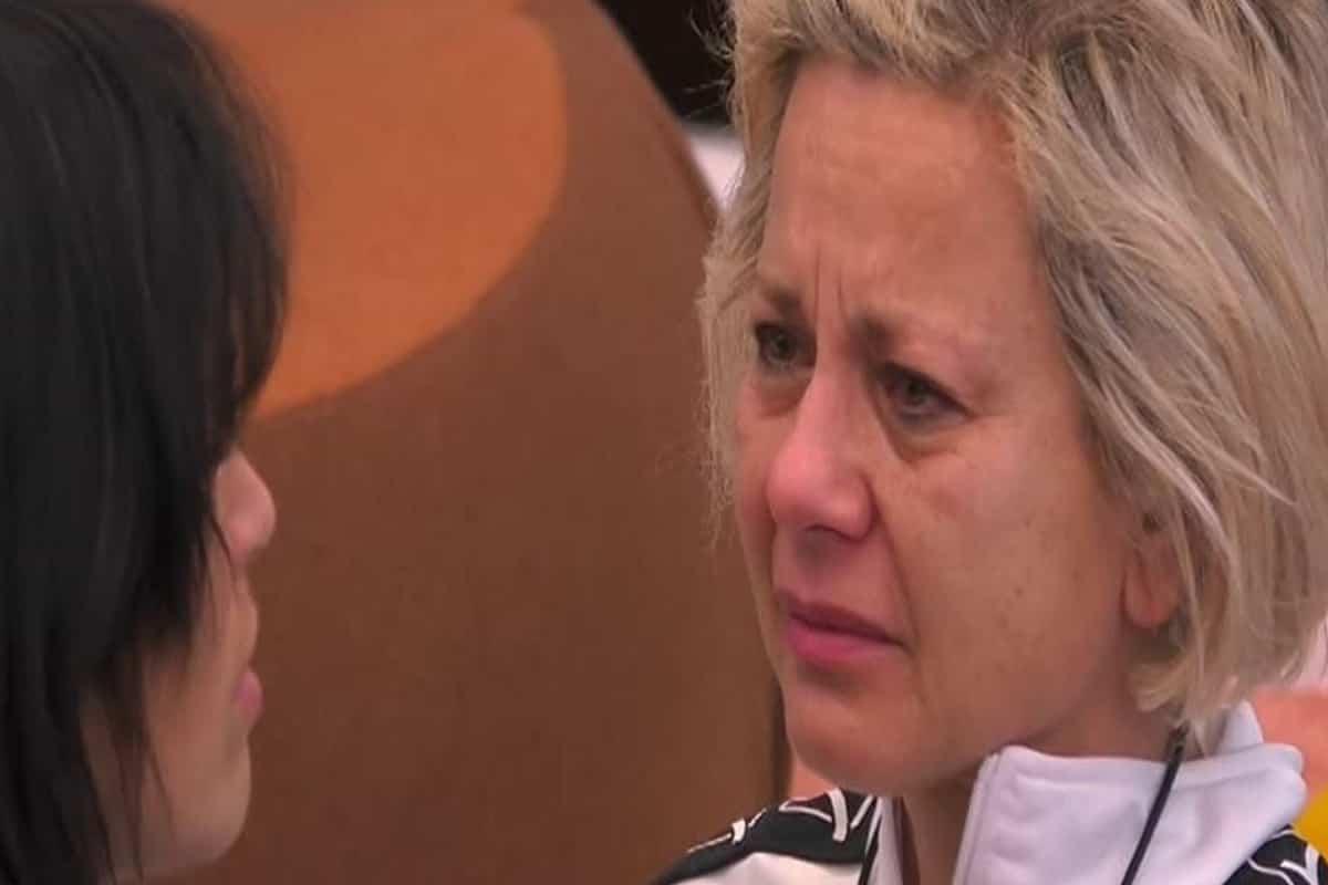antonella elia piange al grande fratello vip 2020