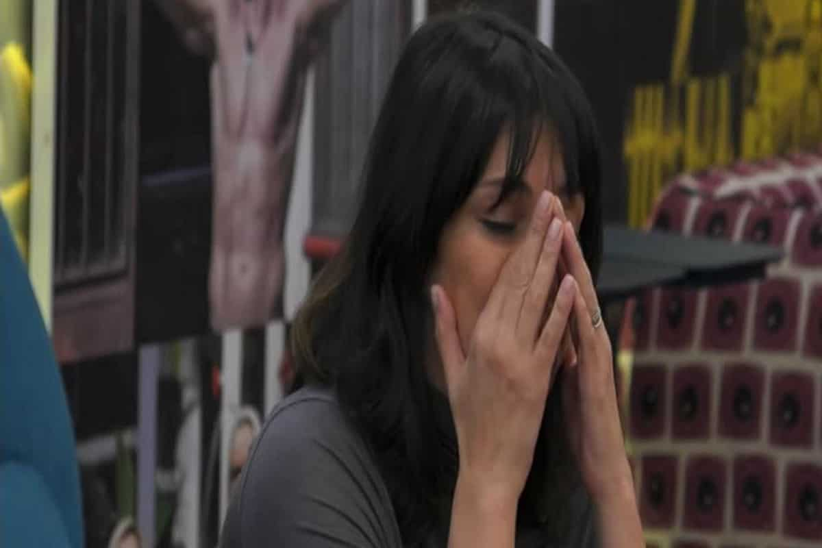 fernanda lessa piange al gf vip