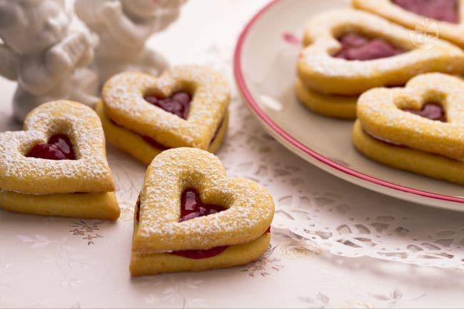 Biscotti per San Valentino la video ricetta