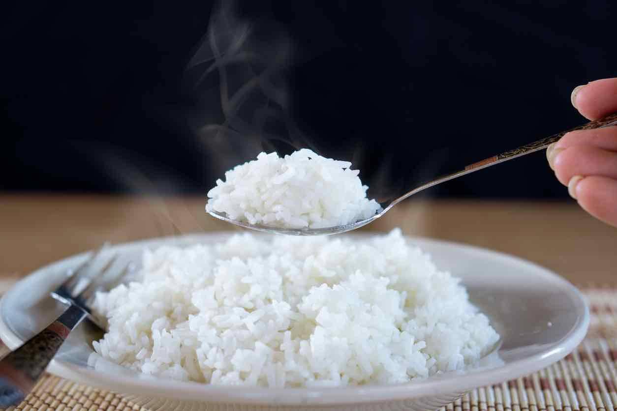 riso riscaldato