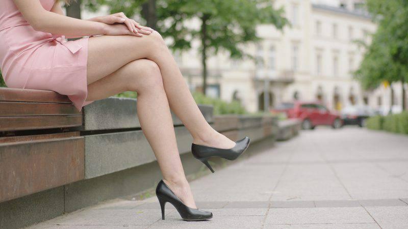 Non devi incrociare le gambe