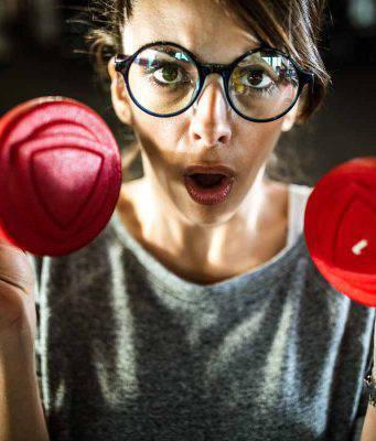 donna che fa sport