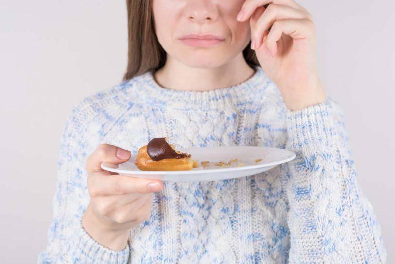 sensi di colpa alimentare