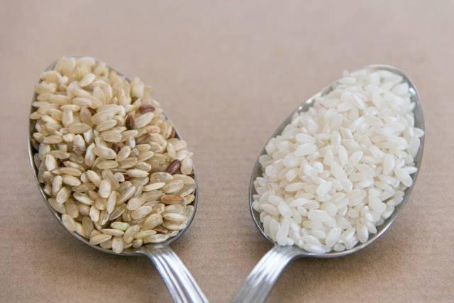No al riso bianco