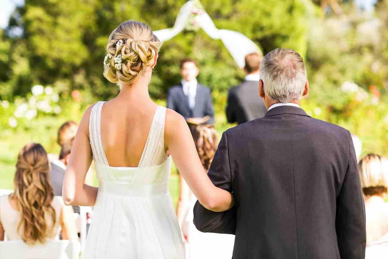 matrimonio figlia padre